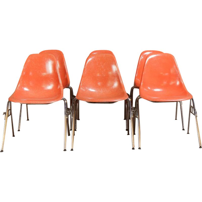 Vintage chairs by Charles and Ray Eames for Herman Miller 1970