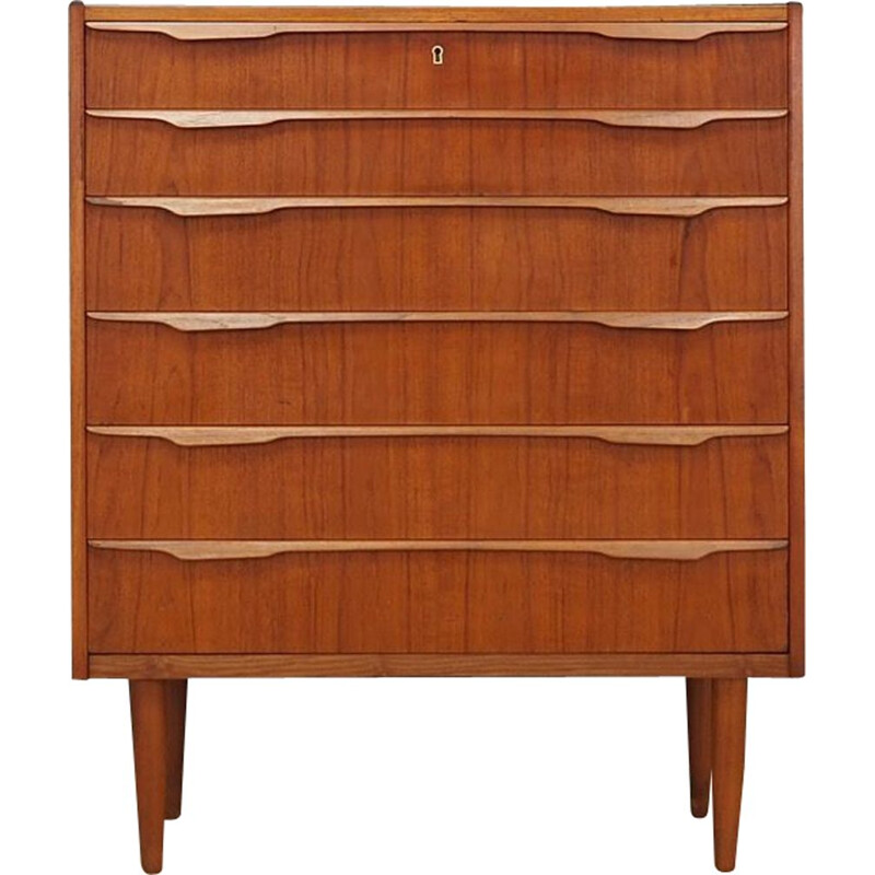 Vintage chest of drawers teak Scandinavian 1970s