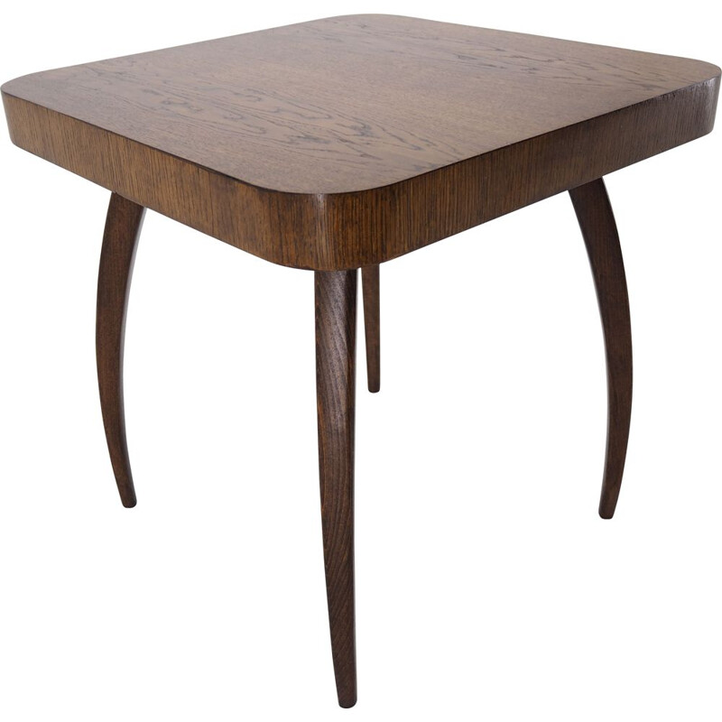 Midcentury coffe table by Jindřich Halabala 1960s