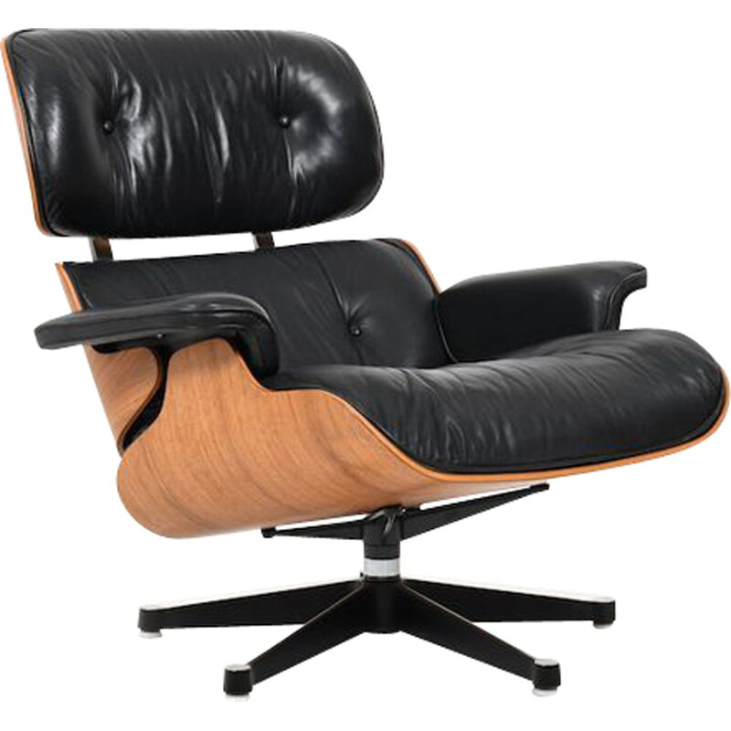 Vintage Charles & Ray Eames Lounge Chair by Vitra 1956s