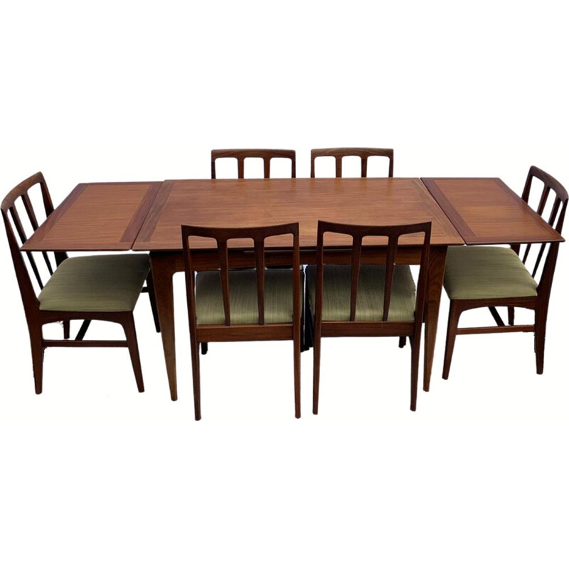 Mid-Century Volnay Afromosia Dining Set by John Herbert for A. Younger Ltd 1960s