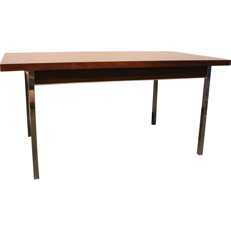 Vintage Extendable dining table in rosewood by Alfred Hendrickx - Belgium - 1950s