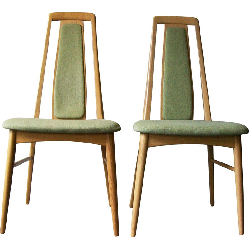 "Pair of Niels Koefoed ""Eva"" chairs in oak"