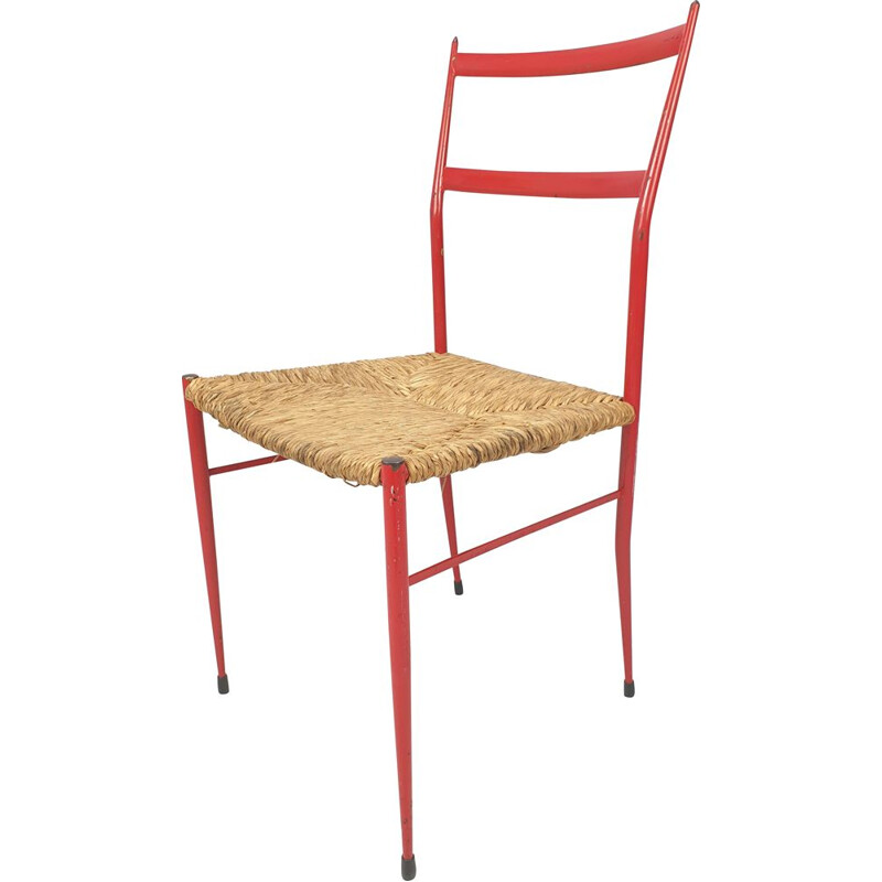 Vintage Superleggera Chair by Gio Ponti 1969