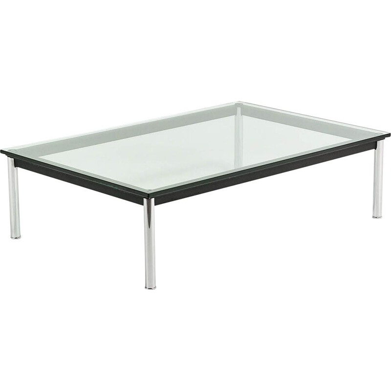 Vintage coffee table Le Corbusier,LC10-P for Cassina 1970