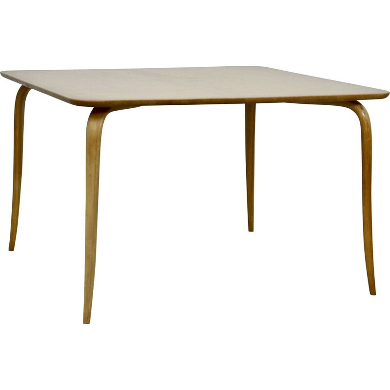 Vintage Annika Coffee Table By Bruno Mathsson 1950s