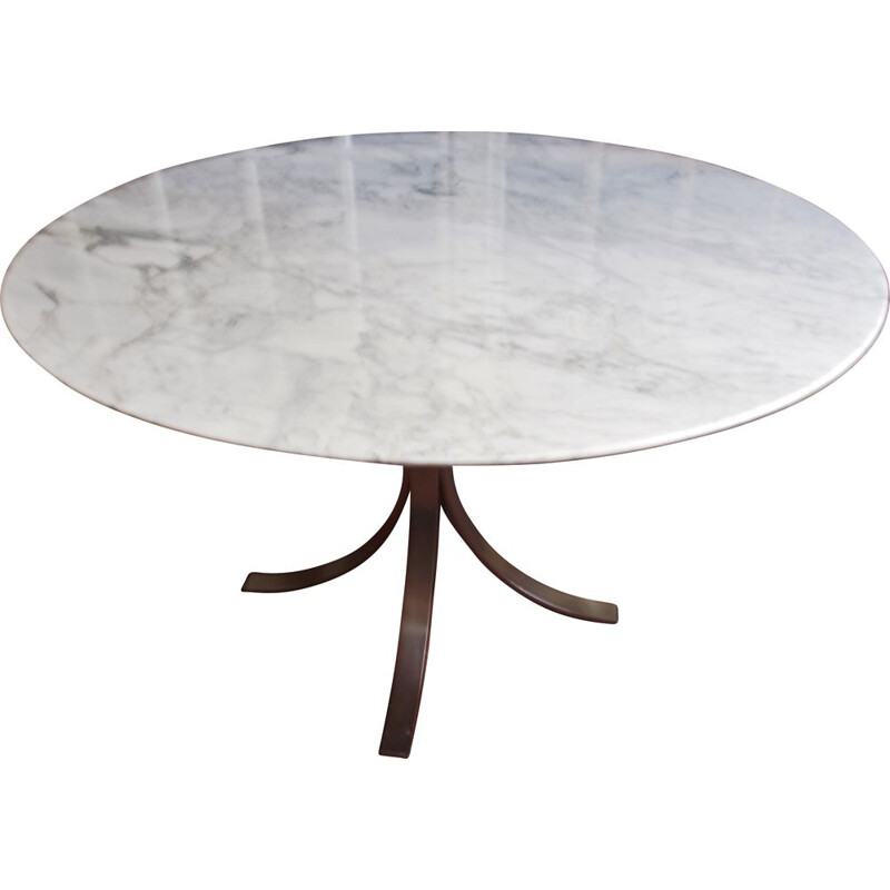 Vintage marble round table