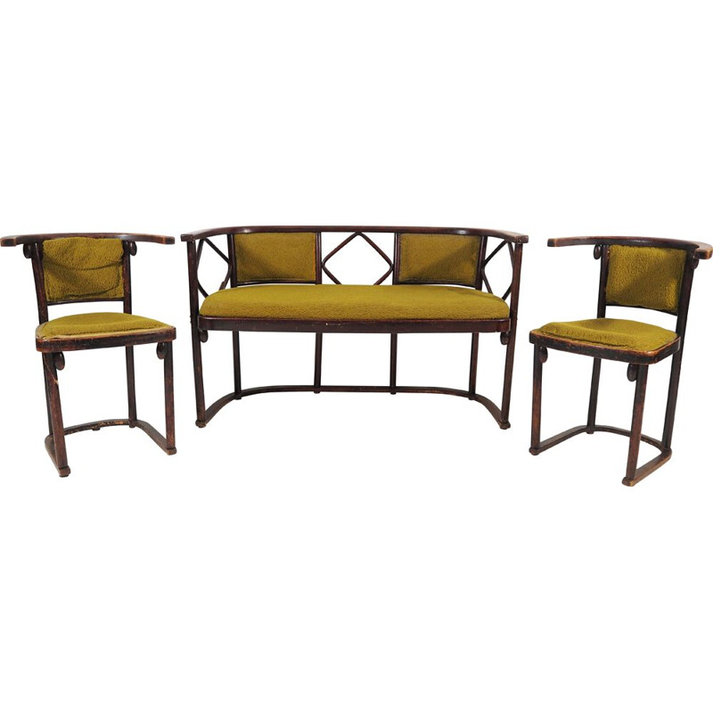 Vintage Living Room Set Thonet