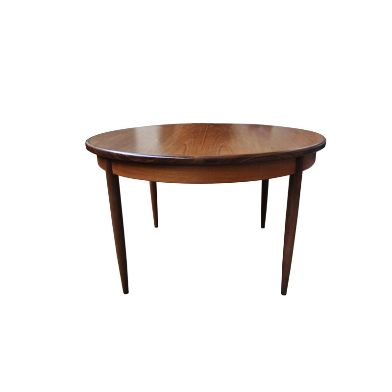 Teak table vintage G-Plan Ib Kofod-Larsen 1960s