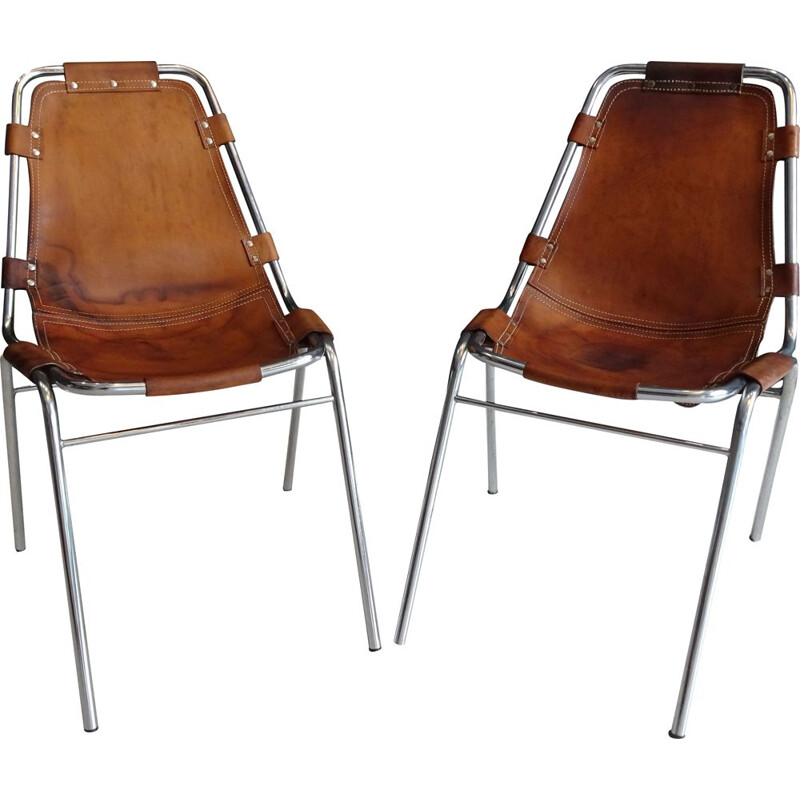 Pair of vintage chairs les arcs