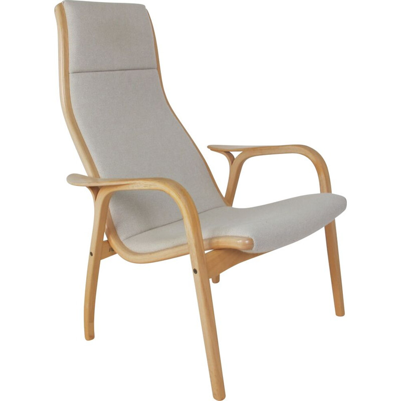 Vintage Lamino Chair by Yngve Ekstrom  by Swedese Scandinavian 1960s