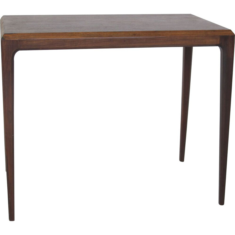 Vintage  Rosewood Side Table by Johannes Andersen for CFC Silkeborg Scandinavian1950s