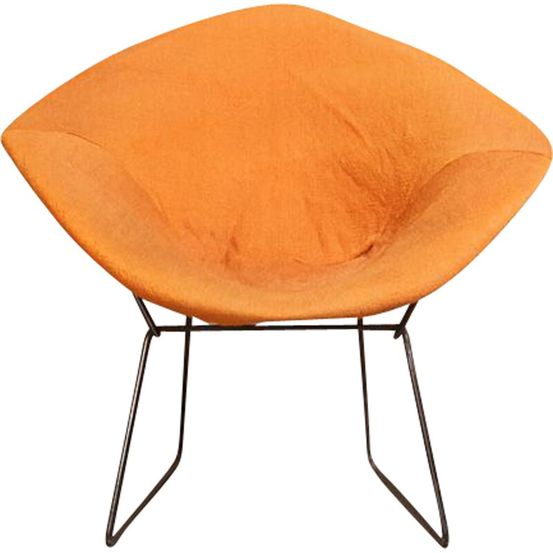 Vintage Diamond Armchair first model by Harry Bertoia for Knoll, Germany 1952