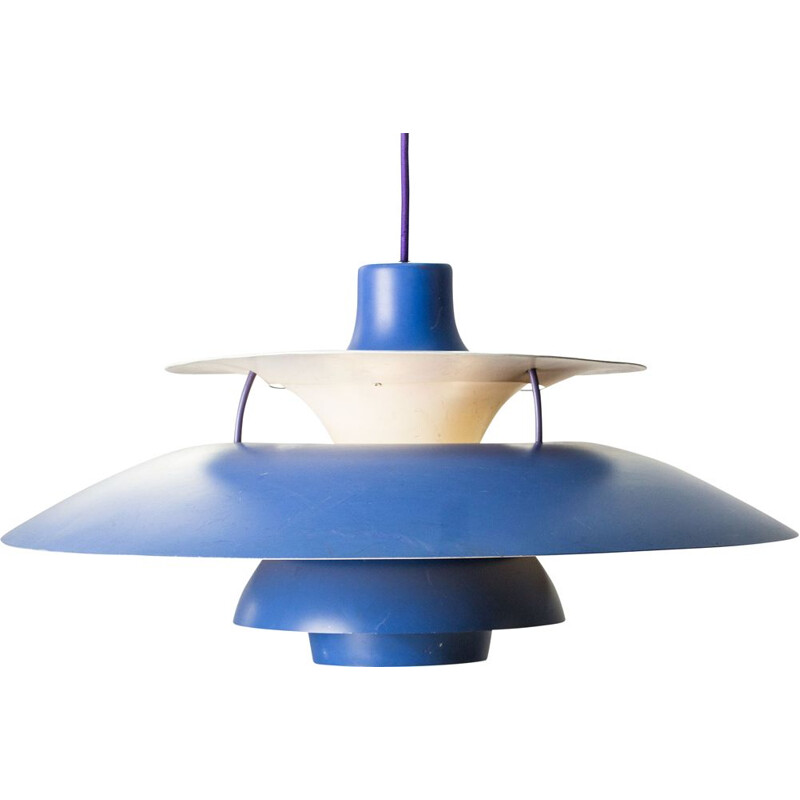 Vintage pendant lamp model PH5 by Poul Henningsen for Louis Poulsen Danoise