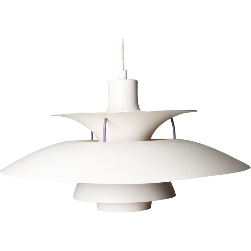 Vintage pendant lamp model PH 5 by Poul Henningsen for Louis Poulsen Danoise