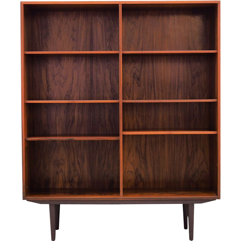 Vintage Bookcase rosewood, by Ib Kofod Larsen, for Faaarup Danish 1970