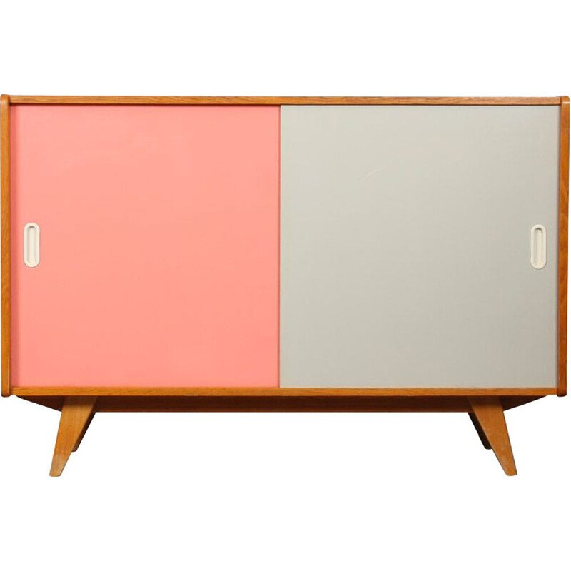 Vintage chest of drawers by Jiri Jiroutek for Interier Praha, model U-452, 1960