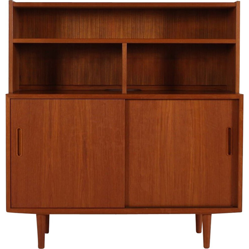 Vintage Sideboard with sliding doors Danish 1970