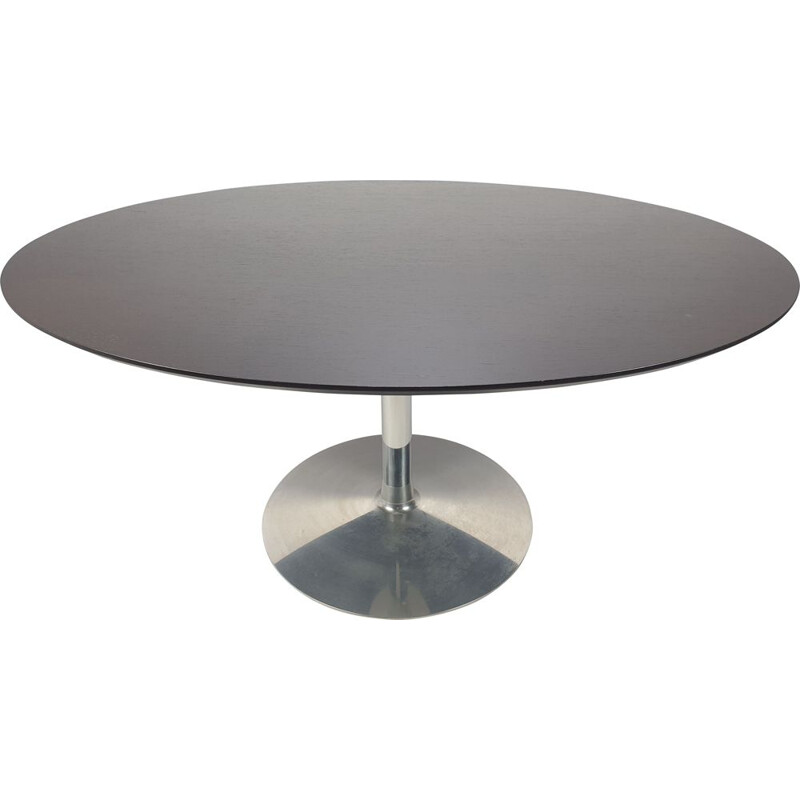 Vintage Oval Dining Table 1960