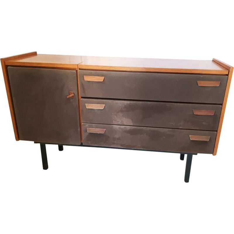Vintage chest of drawers Roger Landault 1970