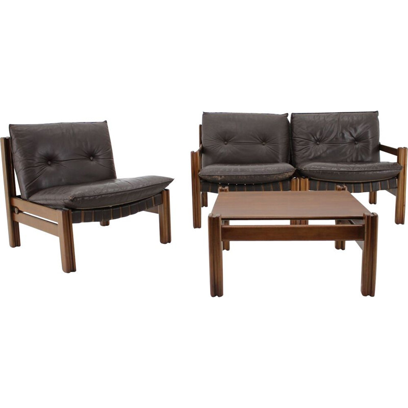 Vintage Living Room Set from TonThonet Czechoslovakia 1980s