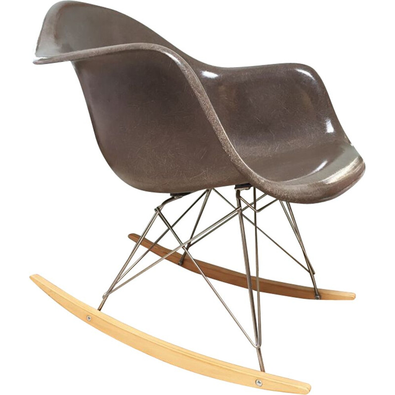Vintage rocking chair Charles & Ray Eames Herman Miller & Vitra 1970