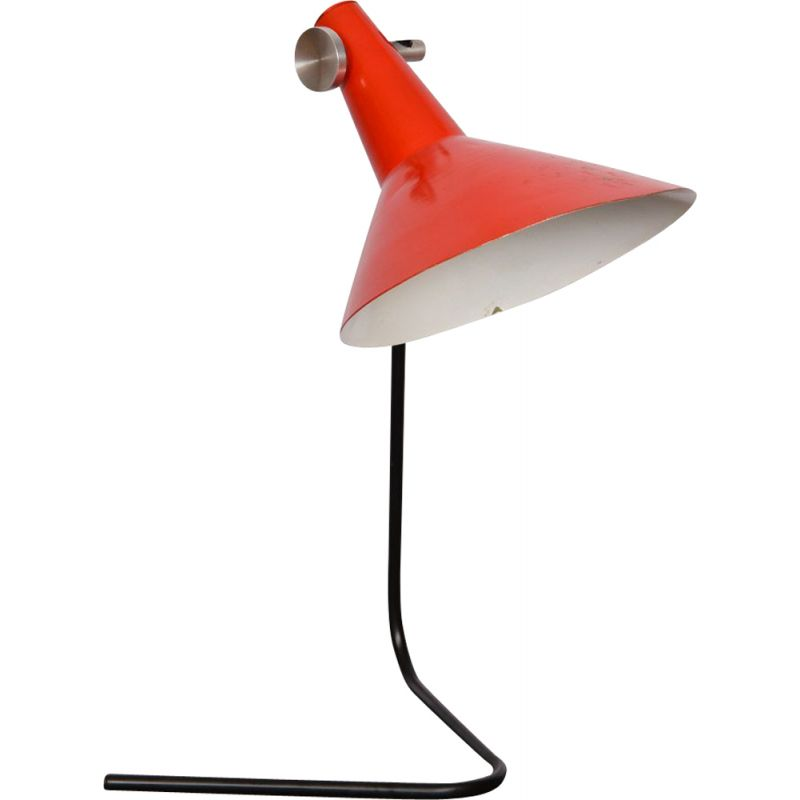 Vintage metal table lamp by Kovona, 1960