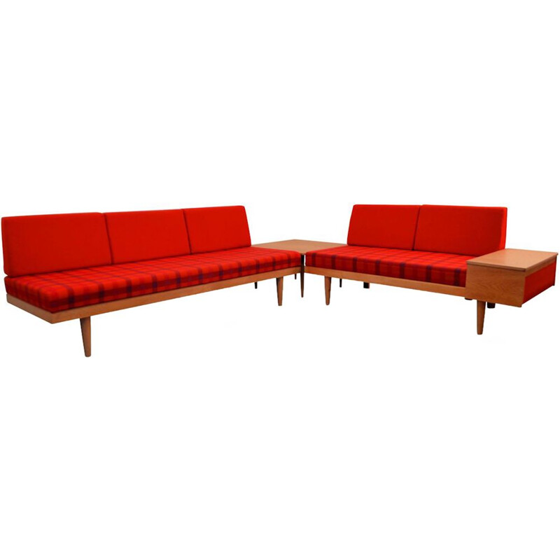 Pair of Vintage Corner Sofa Norwegian by Harald Vik & Ilmar Relling