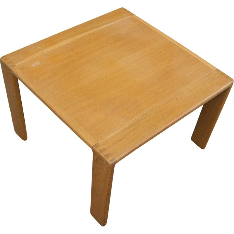 Vintage Side Table from E. Pajamies for ASKO in Oak 1970s