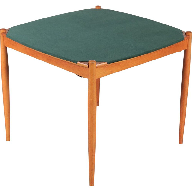 Vintage Poker table, Gio Ponti 1960s