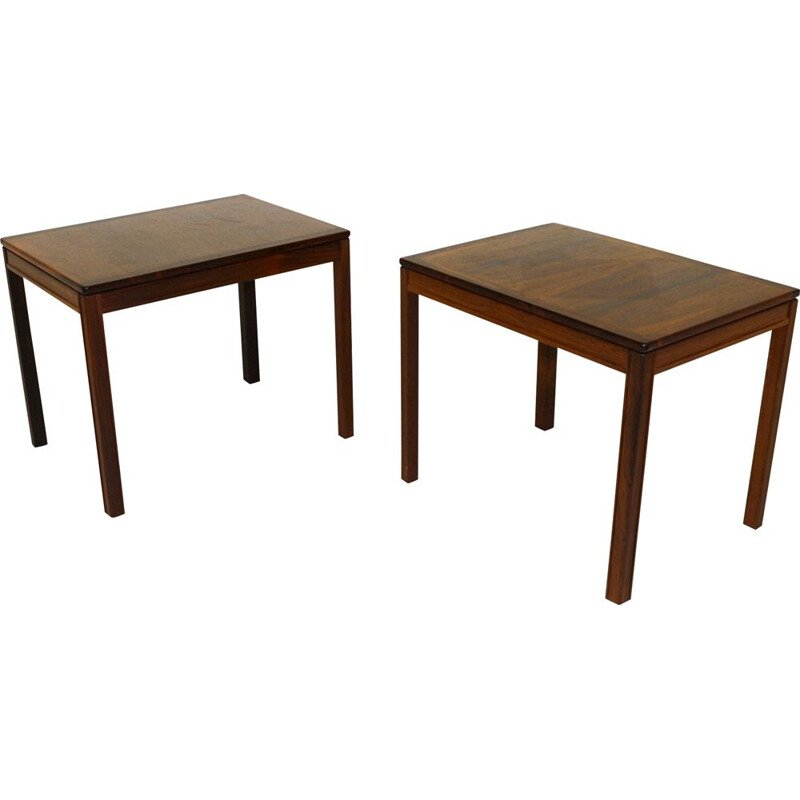 Pair of Vintage Side Tables Brakaskad Engström & Myrstrand, Tingströms, Sweden 1960