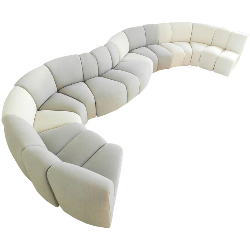 "Artifort ""Mississippi"" sofa, Pierre PAULIN - 1978"