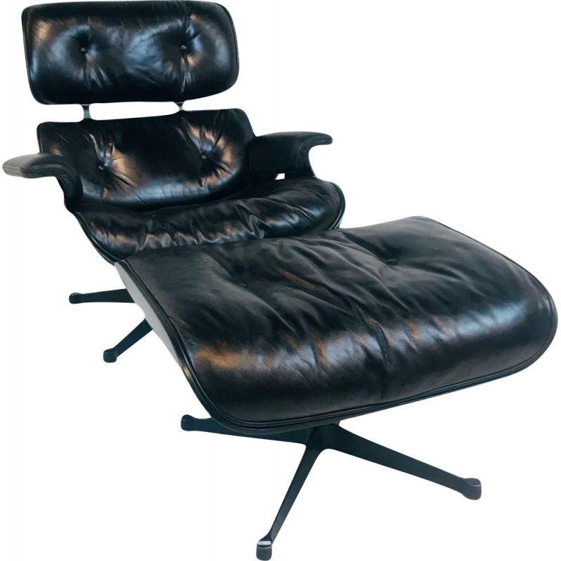Vintage Lounge Chair by Charles & Ray Eames for Herman Miller, USA  1970s