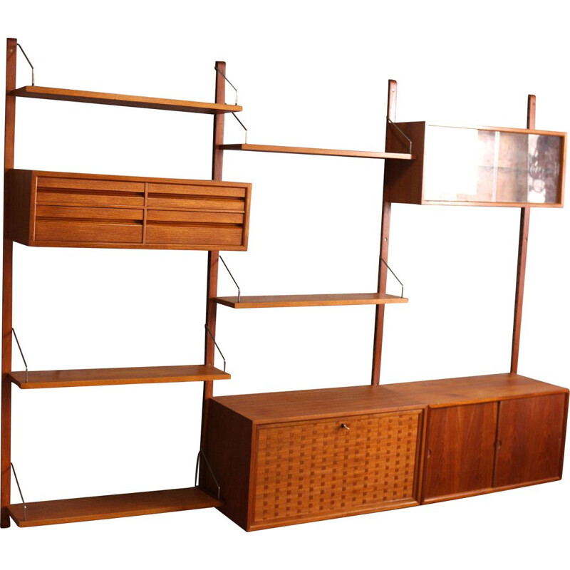 Wall Unit System by Poul Cadovius, 1960