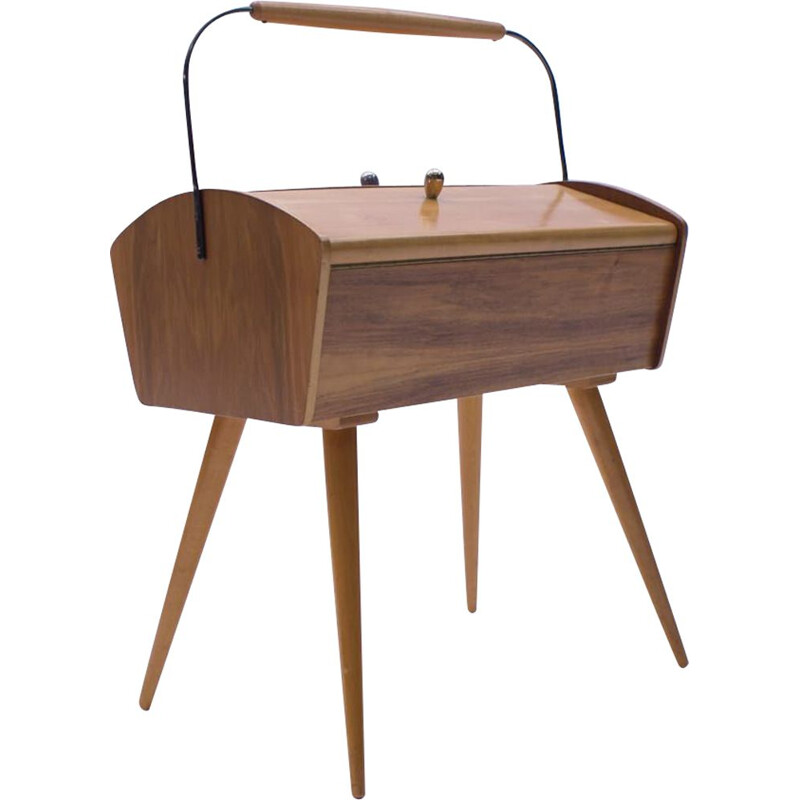 Mid-Century Sewing Box, Scandinavian 1950s