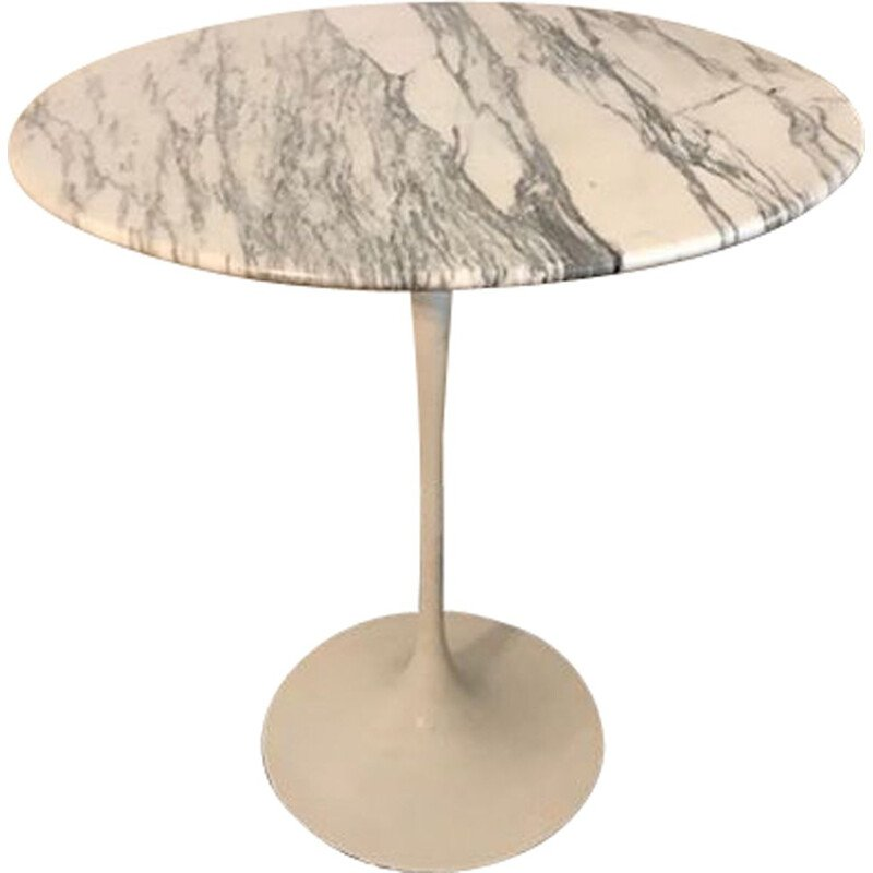"Vintage ""Tulip"" pedestal table by Eero Saarinen for Knoll International"