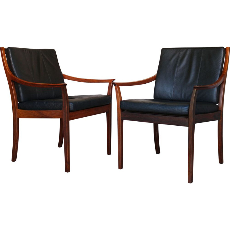 Pair of Vintage Office chairs by Tørbjorn Afdal, Norway 1970s