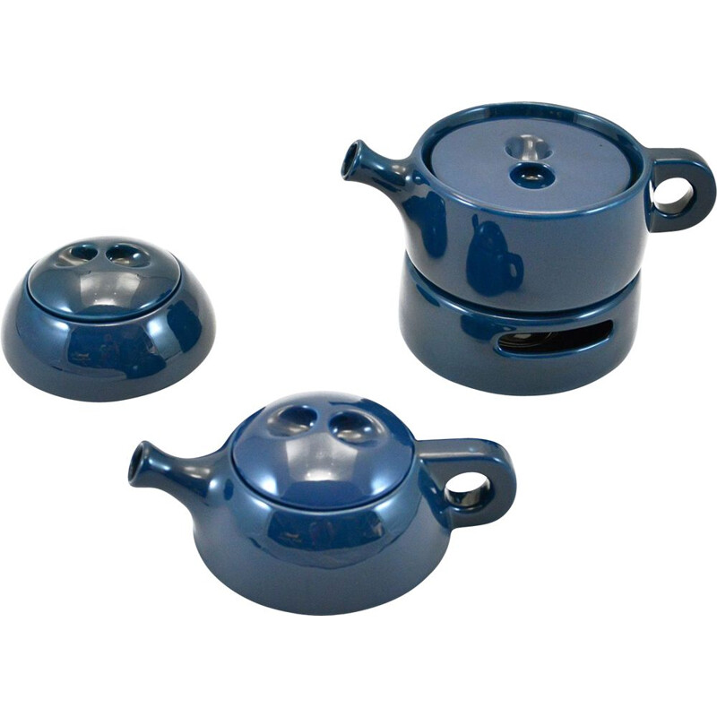 Vintage Stackable Tea Set By Liisi Beckmann For Gabbianelli, 1967