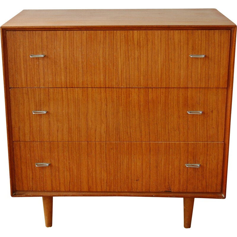 Vintage teak chest of drawers McIntosh of Kirkcaldy 1950s