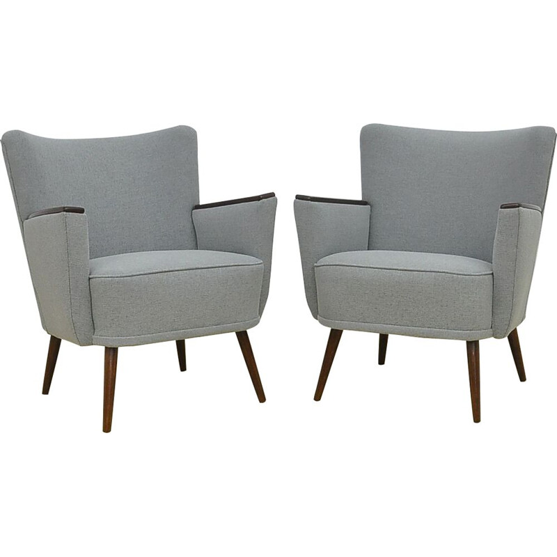 Pair of Mid-Century cocktail armchairs,1960s