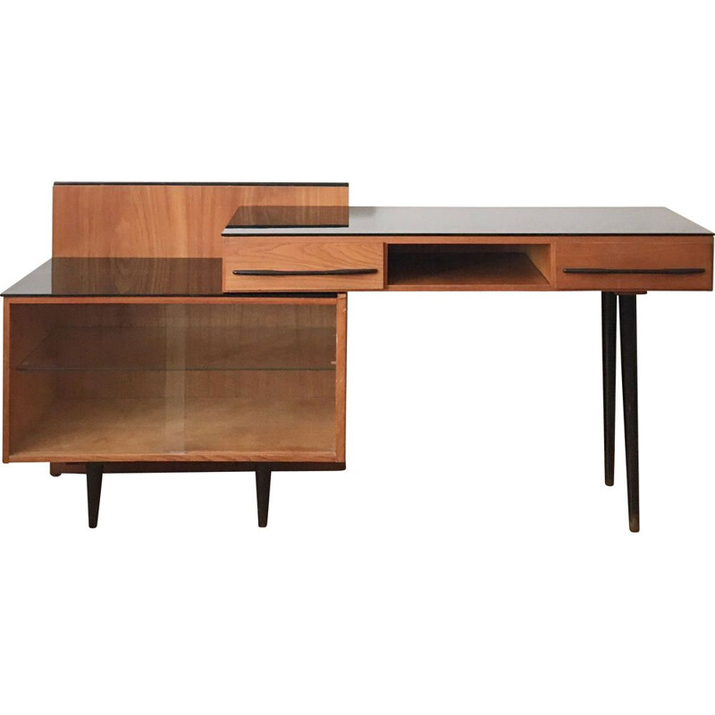 Vintage desk table By Mojmir Pozar for UP Zavody 1960s