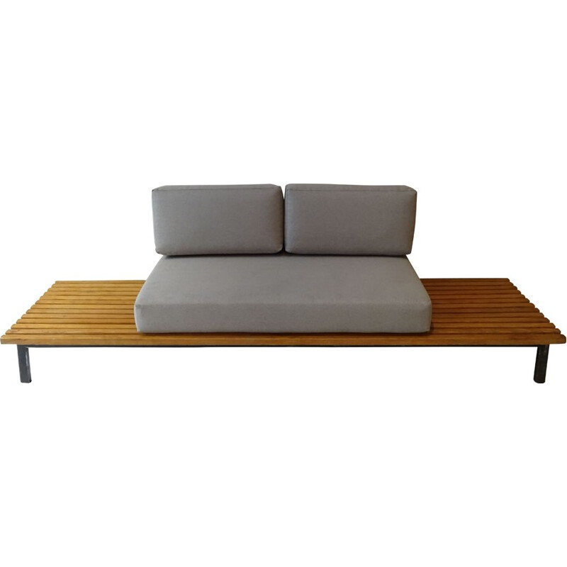 Vintage bench Cansado Charlotte Perriand 1954