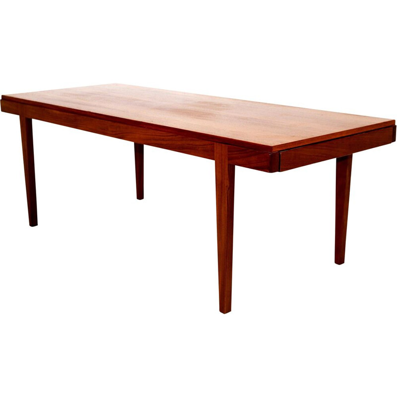 Vintage teak and formica coffee table, Sweden 1960