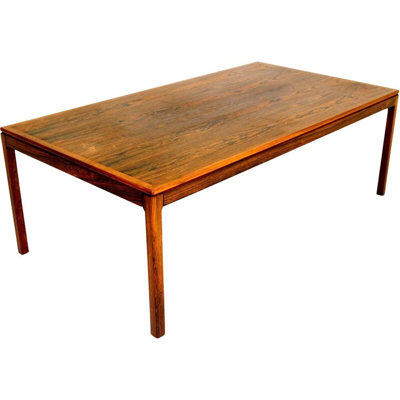 Vintage rosewood coffee table, Sweden 1960