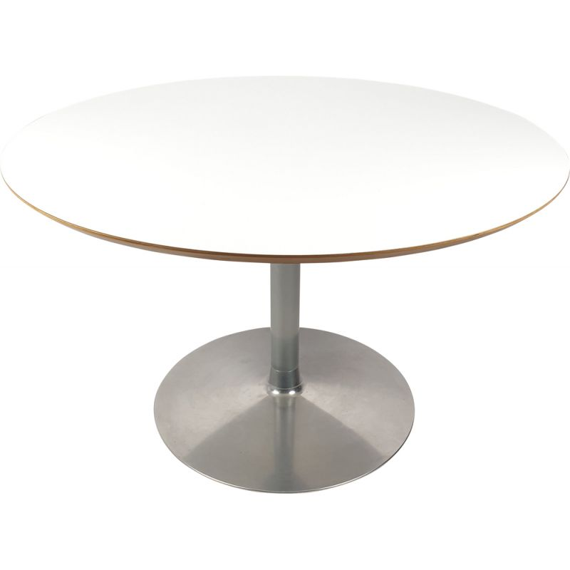 Vintage Round Dining Table by Pierre Paulin for Artifort, 1980s