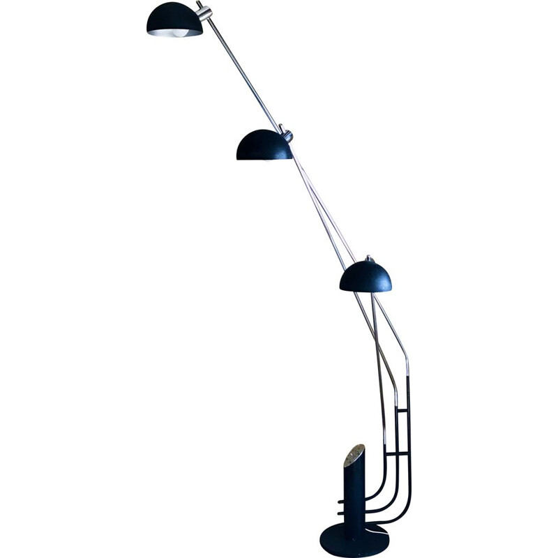Vintage 3-branch floor lamp by Franco Marchetti, Italy 1970