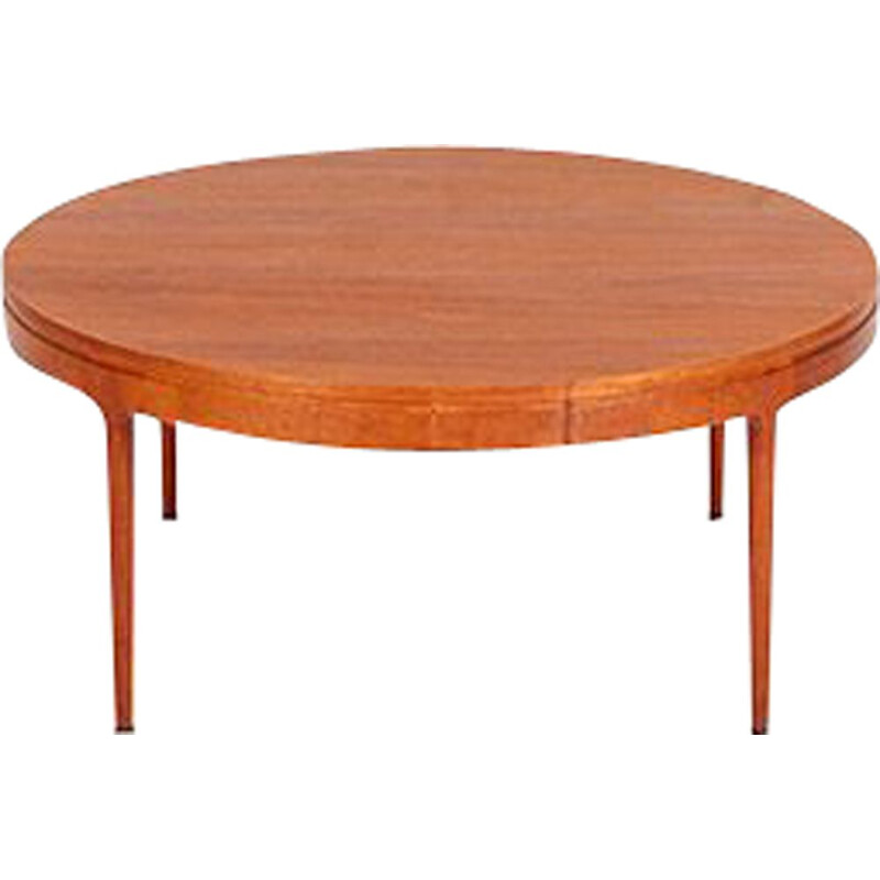 Vintage Large Teak Coffee Table by Severin Hansen for Haslev Møbelsnedkeri, 1960s