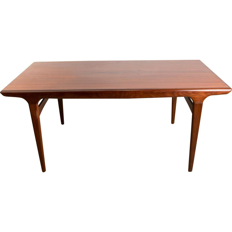 Vintage Teak Dining Table by Johannes Andersen for Uldum Mobelfabrik Danish 1960