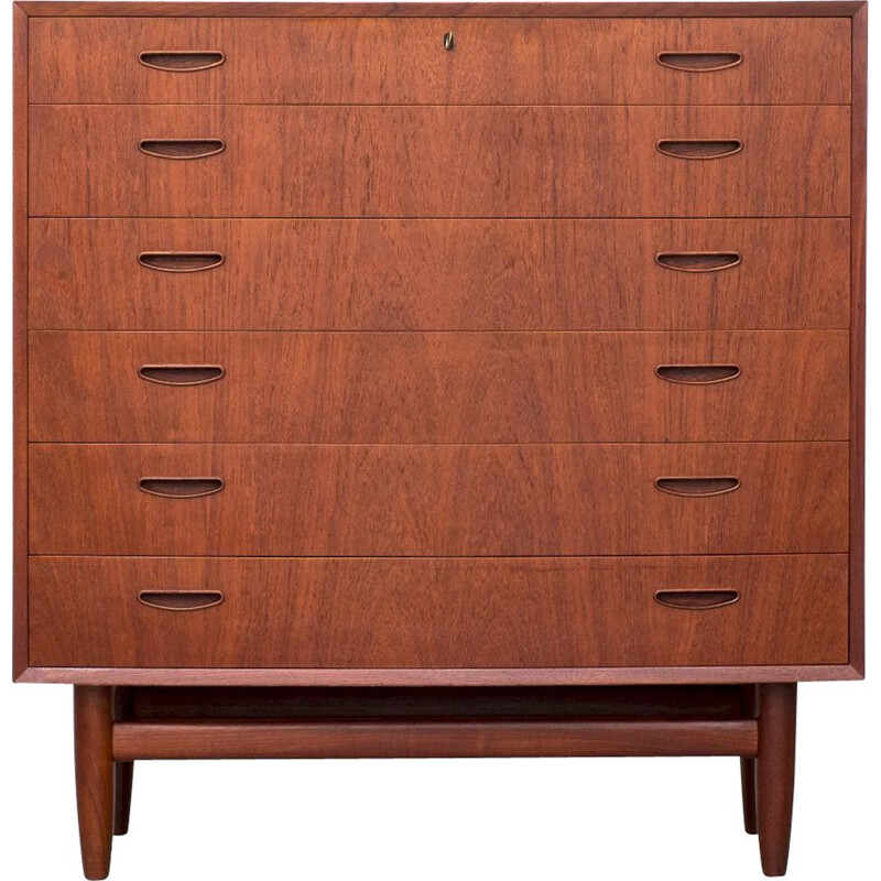 Mid-century chest drawer danish 1960s