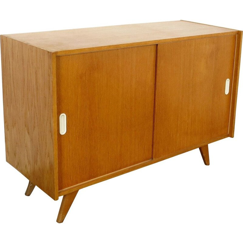 Vintage highboard by Jiri Jiroutek Czechoslovakia 1960s